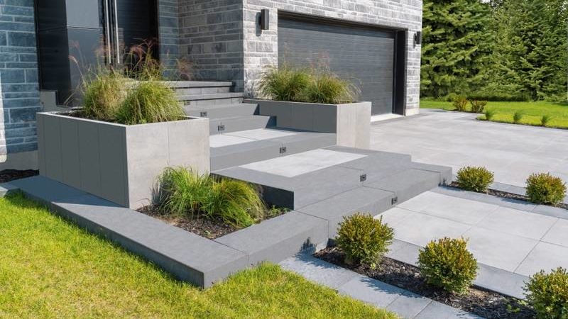 permacon cement driveway